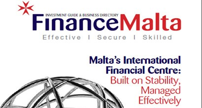 Promotional copy for FinanceMalta's 'Guide to Doing Business in Malta' China Edition