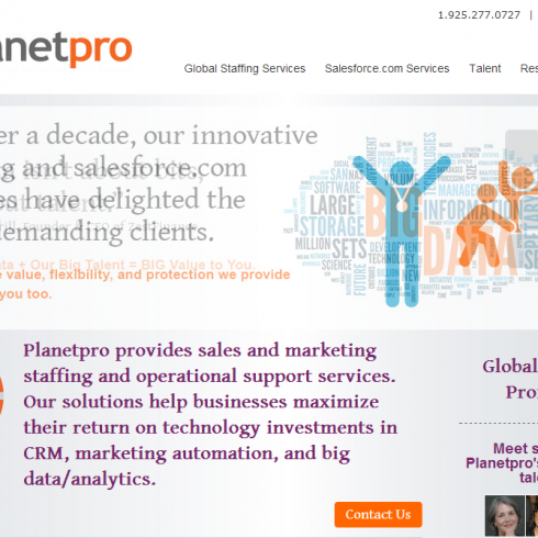 Planetpro website copy
