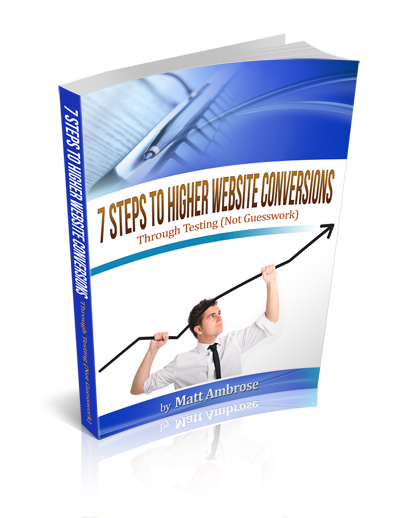 eBook - 7 Steps to Higher Website Conversions